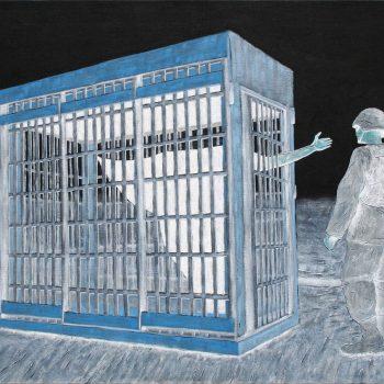 Thomas Michel, Das Gespenst der Freiheit, Öl auf Leinwand, 2006, 120 x 170 cm