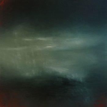 Lucie Kazda, Mist of Time, oil on canvas